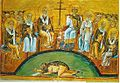 Menologion of Basil 024 — Second Council of Nicaea.jpg