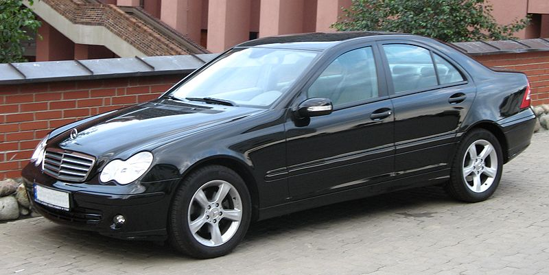file mercedes benz c180 kompressor w203 jpg wikimedia. Black Bedroom Furniture Sets. Home Design Ideas