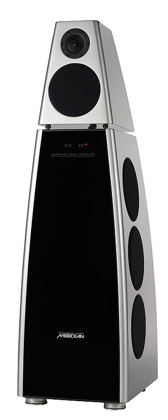 Meridian Audio - Meridian Audio's flagship DSP8000 speakers