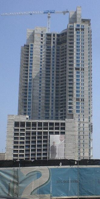 Metropolitan Miami (development) - Image: Met 1 Building in Miami