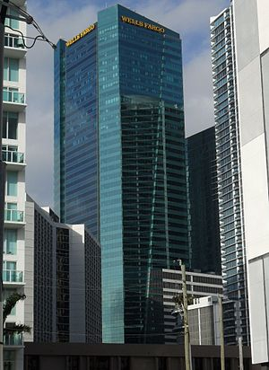 Metropolitan Miami (development) - Image: Met 2 Miami (Wells Fargo Center)