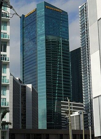 Metropolitan Miami (development) - Image: Met 2 Miami (Wells Fargo Center)