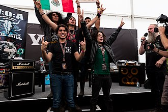 Wacken Open Air - The Winners of Metal Battle 2017, the Mexican Band Jet Jaguar.
