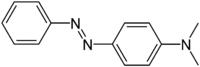 Struktur von 4-(Dimethylamino)azobenzol