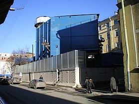 Шахта строительства перегона к станции