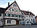 Metzgerei Adler, Ehemaliges Gasthaus Adler, erbaut 1707 - panoramio.jpg