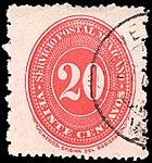 Mexico 1890-95 20c Sc240A used.jpg