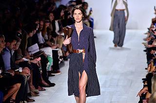 Hilary Rhoda American model