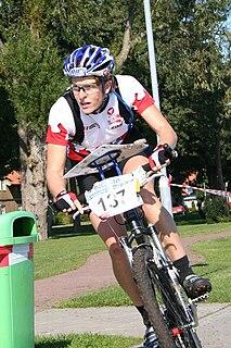 Michaela Gigon Austrian mountain bike orienteer