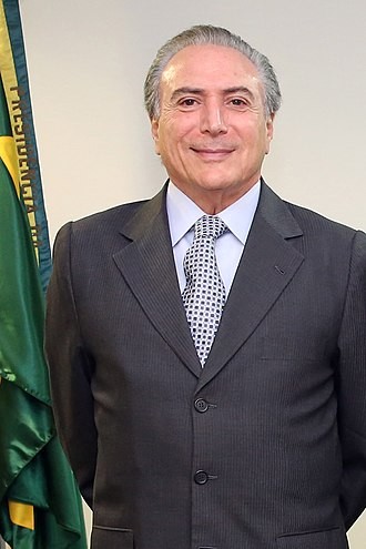 2014 Brazilian general election - Image: Michel Temer (foto 2)