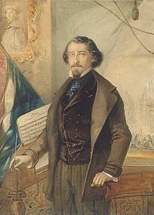 Il Canto degli Italiani - Michele Novaro, composer of the music.