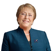 Portrait officiel de Michelle Bachelet, 2014.