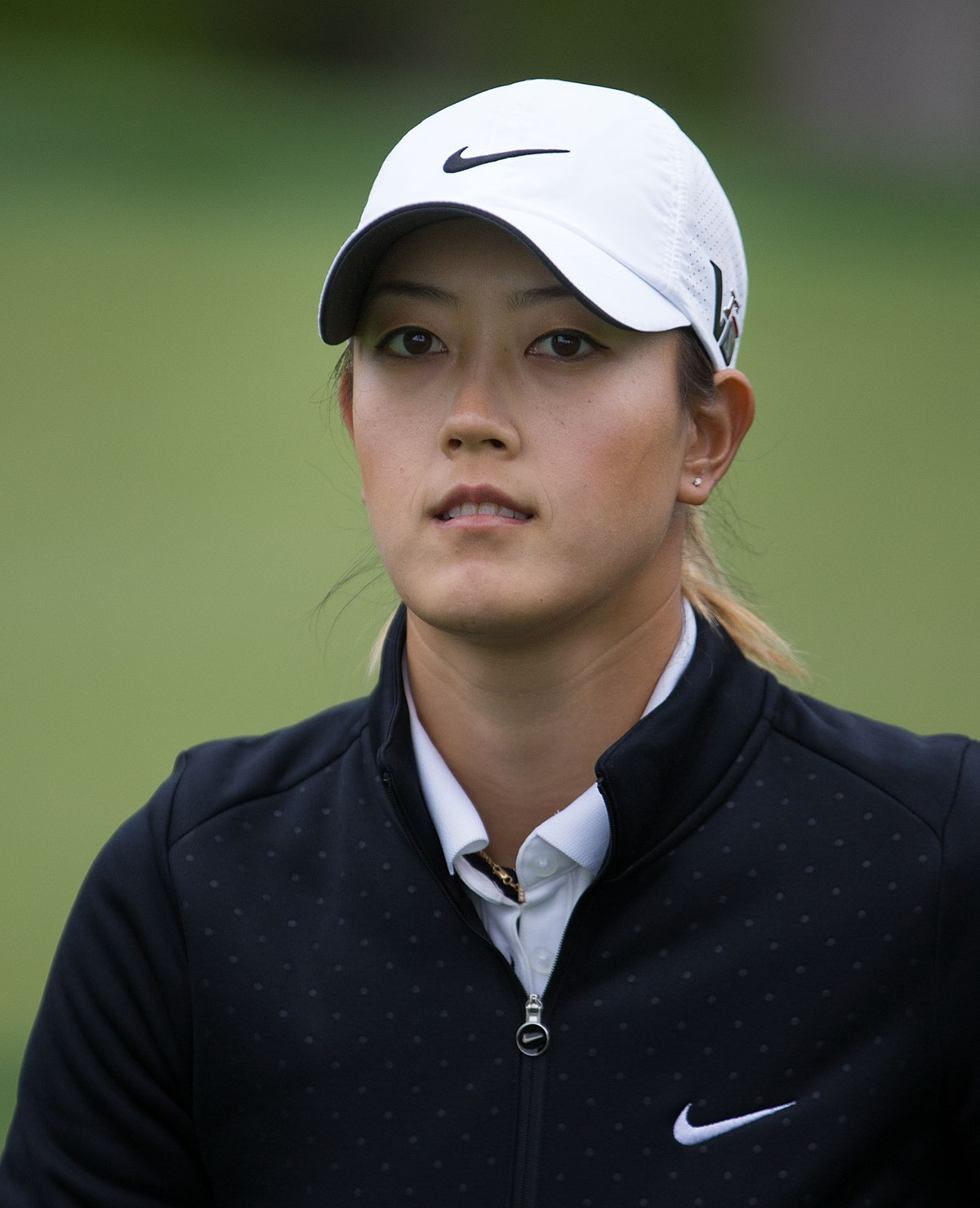 Watch Michelle Wie 1 LPGA major video