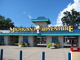 Michigan's Adventure - Image: Michigans Adventure entrance