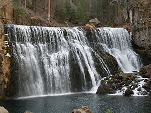 McCloud River - Image: Middle Falls