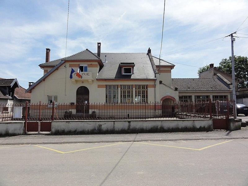 Mignéville (M-et-M) mairie - école