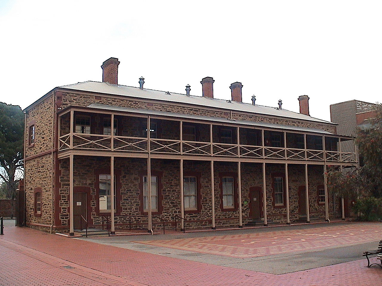 File:Migration Museum, Adelaide - former Destitute Asylum ...