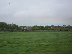 Millom - view from Mainsgate Road after rain.JPG