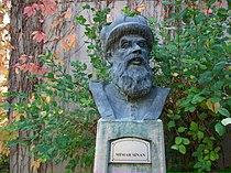 Mimar Sinan büstü, ODTÜ.jpg