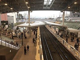 Minami-machida Grandberry Park Station Railway station in Machida, Tokyo, Japan