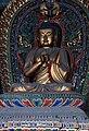 Ming Vairocana statue (大日如来, Dàrì Rúlái; 毘盧遮那佛, Pílúzhēnà Fó), one of Five Tathagathas (五方佛 Wǔfāngfó) or Five Wisdom Buddhas (五智如来 Wǔzhì Rúlái), Huayan Temple (华严寺), Shanxi, China.jpg