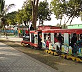 Mini Train in Quaid-e-Azam Park Near Steel Mill Town Ship, Karachi... - panoramio.jpg