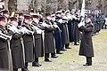 Ministru prezidents Valdis Dombrovskis piedalās svinīgajā vainagu nolikšanas ceremonijā Rīgas Brāļu kapos (8174994330).jpg