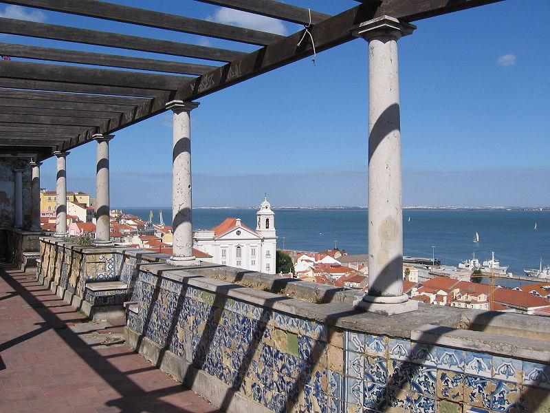 Vistas imperdíveis em Lisboa