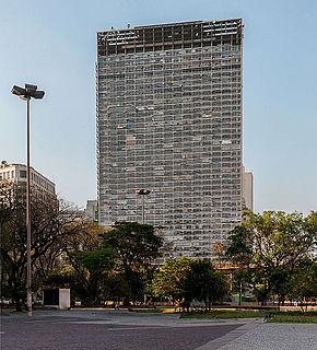 Mirante do Vale skyscraper in São Paulo, Brazil
