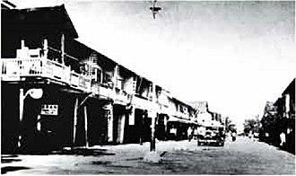 Miri, Malaysia - Miri street view in 1925