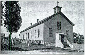 St. Ignace Mission - Image: Mission Church St Ignacepre 1906