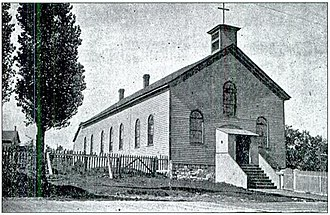 St. Ignace Mission - Image: Mission Church St Ignacepre 1906