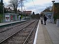 Mitcham tramstop look west.JPG