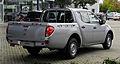 Mitsubishi L200 2.5 DI-D 2WD Inform Doppelkabine (IV, Facelift) – Heckansicht, 17. September 2011, Hilden.jpg