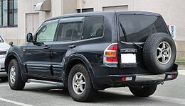 Mitsubishi V75W Pajero Long-Body EXCEED-S 3500 GDI Rear.jpg