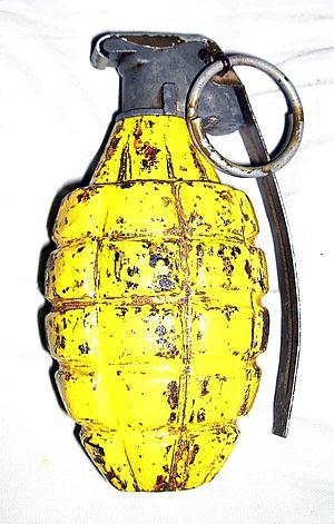 Mk 2 grenade - Image: Mk 2 HE