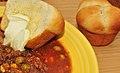 Mmm... vegetable beef soup with fresh cloverleaf rolls (7339303664) (2).jpg