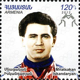 Mnatsakan Iskandaryan Olympic wrestler