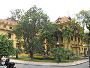 Foreign relations of Vietnam - Foreign ministry in Hanoi