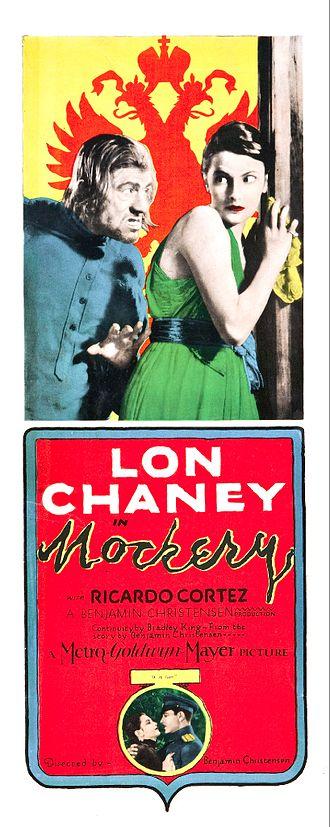 Mockery (1927 film) - Image: Mockery Film Poster