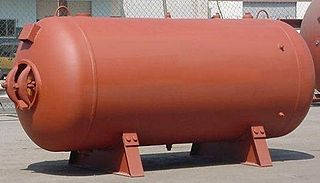 Pressure vessel A container designed to hold gases or liquids at a pressure substantially different from the ambient pressure