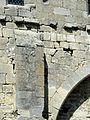 Mogneville (60), église Saint-Denis, nef, fenêtre bouchée de l'ancienne nef, côté sud.JPG