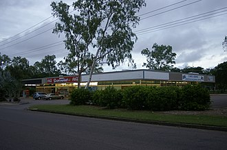 Moil, Northern Territory - Shopping complex at Moil