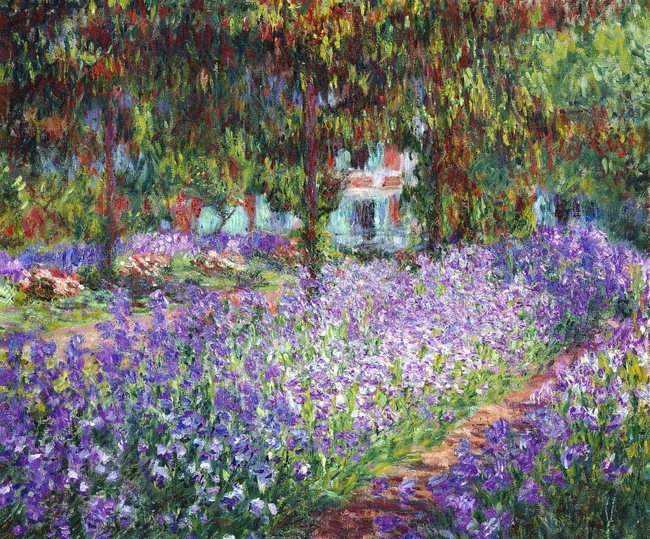 File monet le jardin de l 39 wikimedia commons for Jardines monet