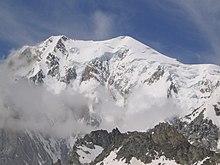 Vista del Monte Bianco