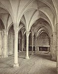 Mont Saint-Michel Abbey, The Marvel. Refectory (Interior) (3485969561).jpg