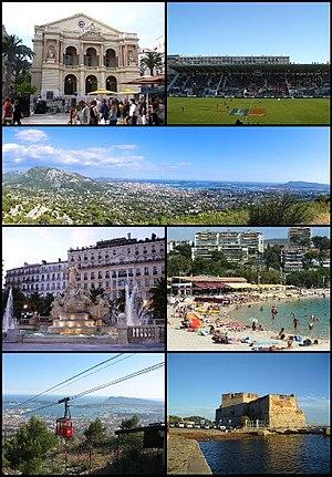 Toulon - Image: Montage Toulon