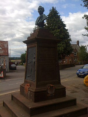 Thornhill, Dumfries and Galloway - Image: Monument to Joseph Thomson, African Explorer geograph.org.uk 1389934