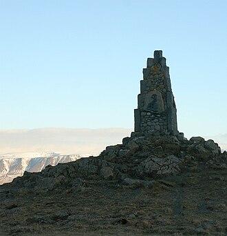 Stephan G. Stephansson - Image: Monument to Stephan Stephansson