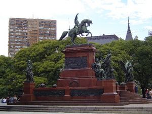 Plaza San Martín (Buenos Aires) - Monument to José de San Martín, the plaza namesake.